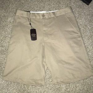 Greg Norman khaki shorts brand new